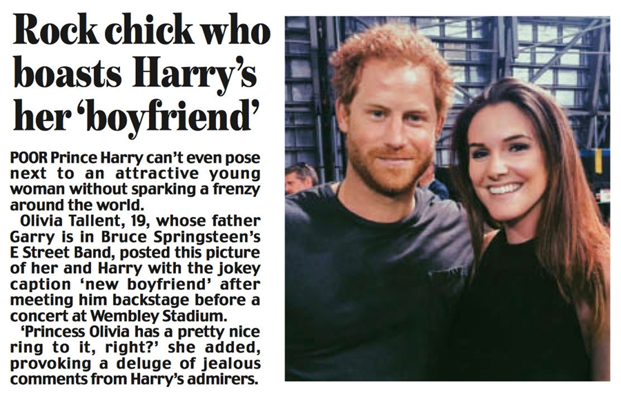 New Boyfriend - Prince Harry 1