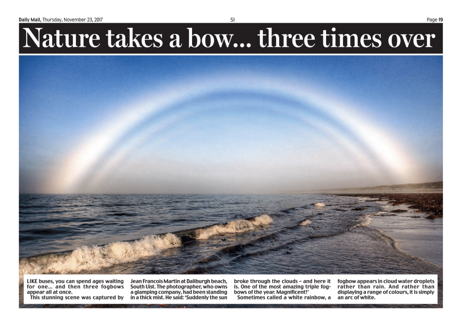 Triple Fog Bow