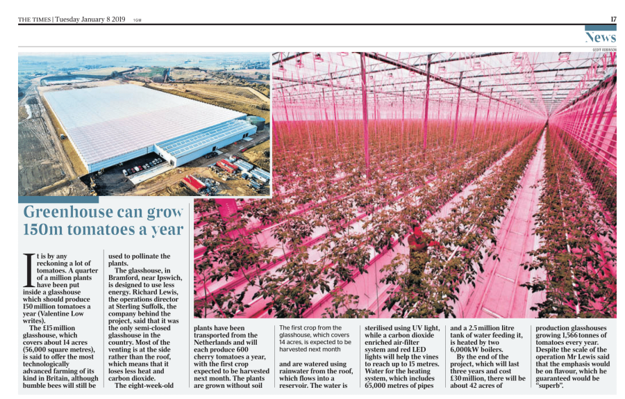 Largest Glasshouse in Britain