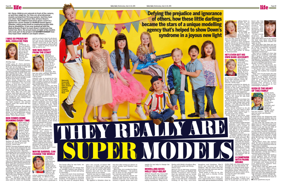 Down's Syndrome Supermodels