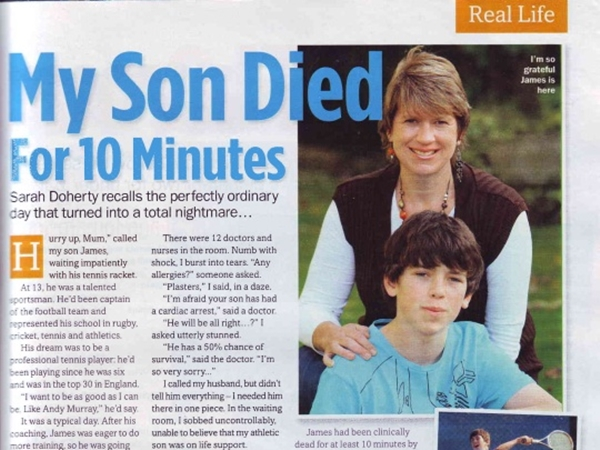 My Son Died For 10 Minutes