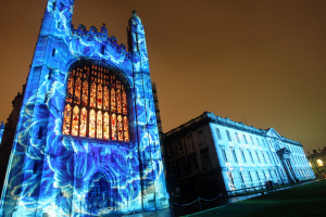 Cambridge University Light Show