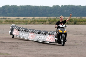 World's longest motorcycle