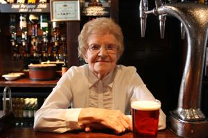 Oldest Barmaid